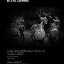 Paris Taïko Ensemble et Tulga Yesilaltay, puissance et délicatesse
