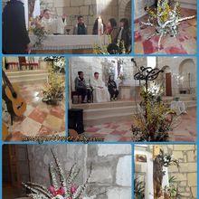 A St Vivien, Pâques 2013, photos, et liturgie florale