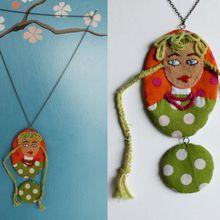 Les bijoux textiles