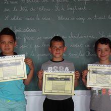 Concours d'orthographe et concours d'opérations au CE2 !