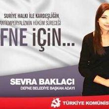 Reporter de guerre anti-impérialiste en Syrie et candidate communiste aux municipales : c'est Sevra Baklaci, en Turquie!