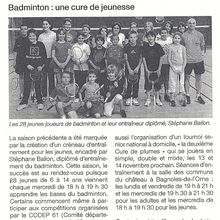 Article Ouest France : section jeunes