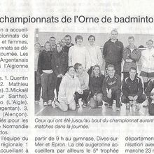 Article Ouest France Orne simple