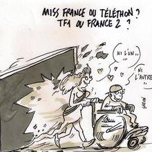 Miss France ou Téléthon ? ..ou ni l' un ni l' autre ?