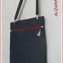 sac porte document extra plat