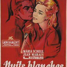 Dimanche 5 Septembre-F3-0h35-Cycle-Cinéma Italien-Nuits Blanches