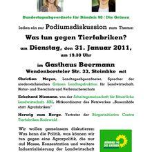 INFO-Veranstaltung zu Hähnchen-Mastställen Freitag 3.2.12 im Binderhaus in Rodewald