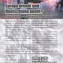 Hannover 16.11.12 -- Europa brennt und Deutschland pennt?