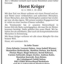 Böhme-Zeitung 10.10.12 -- LINKE-Nachruf für Horst Kröger