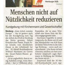 Harke 2.5.14 -- DGB-Kundgebung Nienburg