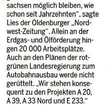 Harke 22.10.14 -- Minister Lies SPD kritisiert Landes-Grüne-Beschluß gegen Fracking