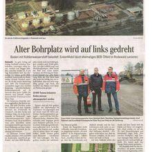 Harke 28.11.14 -- Rodewald: alter ExxonMobol-Bohrplatz belastet