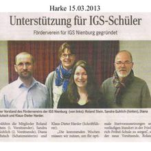 Harke 15.3.13 -- Nienburg IGS-Förderverein