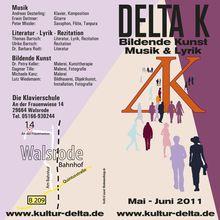Kunstausstellung ab 29.5.11 walsrode Delta K