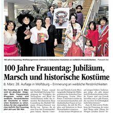Rosa und Clara in Wolfsburg - Wolfsburger Allgemeine Zeitung 18.2.11