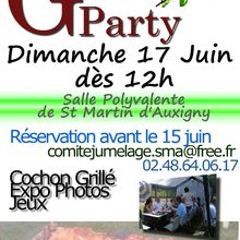 Grill Party 2012 : l'annonce