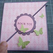 Une carte pour Stampin'up