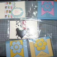 5 Cartes pour Stampin'up