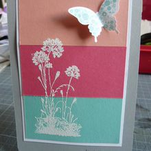 Carte en Stampin'up