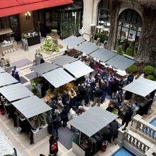RDV confidentiel au Plaza Athénée : le Marché d'Alain Ducasse ouvert au public