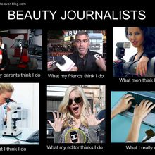 Beauty journalists...