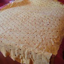 couvre-lits au crochet
