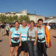 """Résultats des """"TAS Running"""" au 10km et semi-marathon de Lyon"""