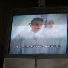 Egypte : publicité religieuse musulmane à l'américaine dans le métro du Caire
