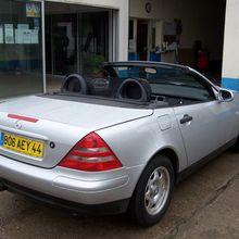 Mercedes SLK 200 2.0i 136