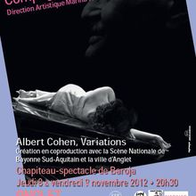 Spectacle Albert Cohen Variations