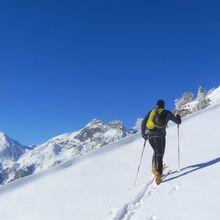 Pralognan J1 : 1ere en ski