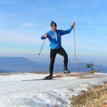 Ski de fond au Semnoz (before taf)