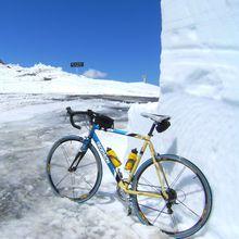 Galibier : acte 1 en vélo.