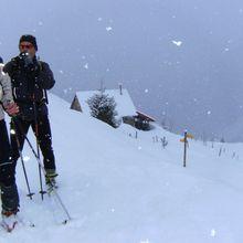 Col du Pouta : Voyage dans le grand blanc