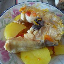 Bouillabaisse de lotte camarguaise...