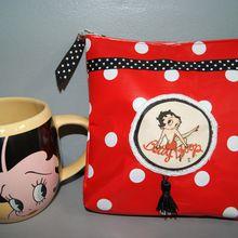 Pochette Betty Boop