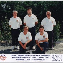 1997.08 Championnat de France Doubles PORT DES BARQUES