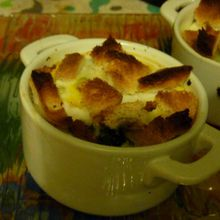 Oeufs Cocotte Campagnards