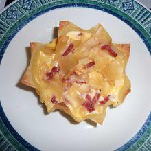 Quiche sur Fond de Pâtes de Lasagne