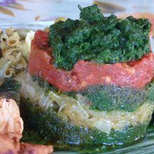 Mille-Feuille aux 3 légumes (1 ♥)