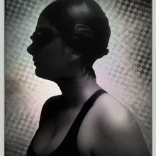 Quatre portraits de Pauline/ Swimming pool / 13-08-2012