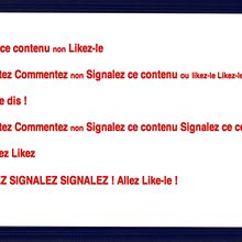 Commente Like Signale