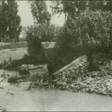 Badolatosa Cauce del rio Genil despues de la riada año 1963