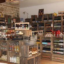 Treguier : Papilles en folie à la cave à bières épicerie fine Madame Mouss'tache