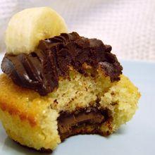 Cupcakes Banane-Chocolat