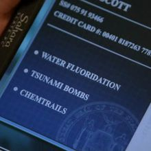 """Chemtrails dans la série """"CSI: New York"""" !"""