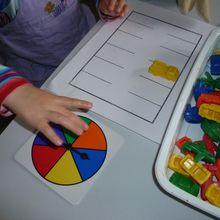 La ronde des couleurs : reconnaissance visuelle et langage