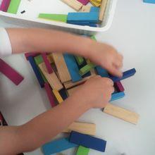 construire et souffler : les kaplas