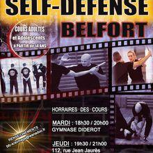 Cours Self-Défense (Krav-maga évolutif), à Belfort
