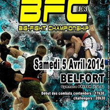 3émé manche du Big-Fight Championship